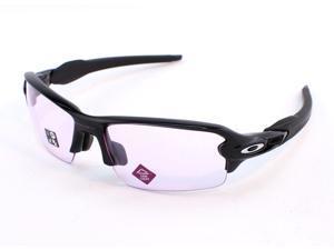 Oakley Flak 2.0 OO9271-3861 Asia Fit Sunglasses - Polished Black/Prizm Low Light