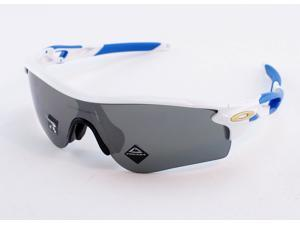 Oakley Radarlock Path OO9206-4738 Asia Fit Sunglasses - Polished White/Prizm Blk