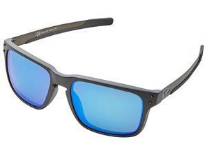 Oakley Holbrook Mix OO9384-1057 Sunglasses - Steel/Prizm Sapphire Polarized