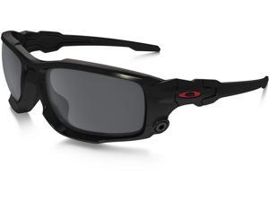Oakley SI BALLISTIC SHOCKTUBE OO9329-05 Sunglasses - Matte Black/Black Iridium