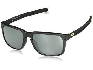 Oakley Holbrook Mix OO9384-1457 Sunglasses - Matte Black/Prizm Black Polarized