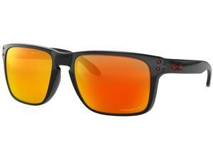 Oakley Holbrook XL OO9417-0859 Sunglasses - Black Ink/Prizm Ruby Irid Polarized