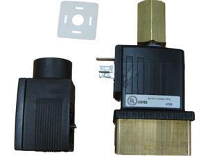 Burkert 6014 D 7/64 FKM BR Solenoid Valves Assy With Plug & Coil 12VDC 98104883