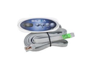 Balboa 53238 4 Button Topside Control Panel for Mini Oval Heat Jacket 7' Cord