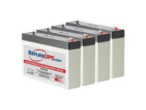 Compatible Replacement Battery Kit APC Smart-UPS 1400 Rack Mount SU1400RM2U