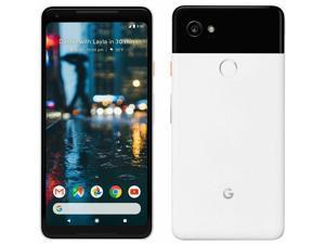 Google PIXEL 2 XL 64GB G011C- Black & White Unlocked  Canadian Model Smartphone-