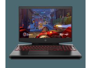 "HP OMEN 15t-dh100 Gaming & Entertainment Laptop (Intel i7-10750H 6-Core, 8GB RAM, 256GB SSD + 1TB HDD, 15.6"" Full HD (1920x1080), NVIDIA RTX 2060, Wifi, Bluetooth, Webcam, 1xHDMI, Win 10 Home)"