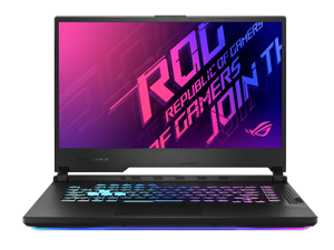 "ASUS ROG Strix G15 G512LI Gaming and Entertainment Laptop (Intel i7-10750H 6-Core, 8GB RAM, 512GB SSD, 15.6"" Full HD (1920x1080), NVIDIA GTX 1650 Ti, Wifi, Bluetooth, 1xUSB 3.2, 1xHDMI, Win 10 Home)"