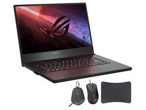 "ASUS ROG Zephyrus G15 GA502DU Gaming and Entertainment Laptop (AMD Ryzen 7 3750H 4-Core, 16GB RAM, 512GB SSD, 15.6"" Full HD (1920x1080), Win 10 Home) with Harrier GT300 , Carry Case , GM50 Pad"