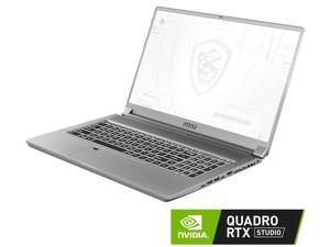 "MSI WS75 10TL-463 Gaming and Entertainment Laptop (Intel i7-10875H 8-Core, 64GB RAM, 1TB PCIe SSD, 17.3"" Full HD (1920x1080), NVIDIA Quadro RTX 4000, Wifi, Bluetooth, Webcam, 1xUSB 3.2, Win 10 Pro)"
