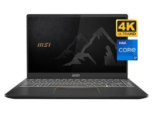 "MSI Summit E14 Gaming and Business Laptop (Intel i7-1185G7 4-Core, 16GB RAM, 1TB SSD, 14.0"" 4K UHD (3840x2160), NVIDIA GTX 1650 Ti (Max-Q), Fingerprint, Wifi, Bluetooth, Webcam, Win 10 Pro)"