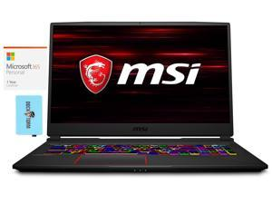 "MSI GE75 Raider Gaming and Entertainment Laptop (Intel i7-10750H 6-Core, 16GB RAM, 512GB SSD + 1TB HDD, 17.3"" Full HD (1920x1080), NVIDIA RTX 2060, Wifi, Win 10 Home) with Microsoft 365 Personal , Hub"