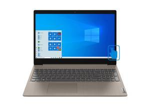 """Lenovo IdeaPad 3 Home and Business Laptop Almond (Intel i3-1005G1 2-Core, 12GB RAM, 1TB HDD, 15.6"""" Touch  HD (1366x768), Intel UHD, Wifi, Bluetooth, Webcam, 1xHDMI, SD Card, Win 10 Home)"""