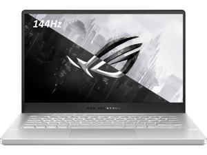 """ASUS ROG Zephyrus Gaming and Entertainment Laptop Moonlight White (AMD Ryzen 9 5900HS 8-Core, 16GB RAM, 1TB SSD, 14.0"""" Full HD (1920x1080), NVIDIA RTX 3060, Wifi, Bluetooth, 1xHDMI, Win 10 Home)"""