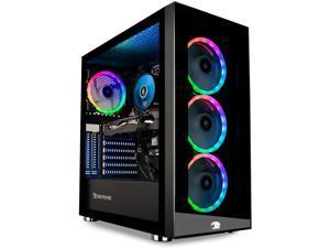 Ibuypower Trace 4 MR Desktop PC Black (AMD Ryzen 7 3700X 8-Core, 16GB RAM, 1TB SSD, AMD RX 5700 XT, Wifi, Bluetooth, 2xHDMI, 3 Display Port (DP), Backlit Keyboard, Win 10 Home)