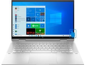 "HP ENVY x360  Home & Entertainment 2-in-1 Laptop (Intel i7-1165G7 4-Core, 16GB RAM, 512GB SSD + 32GB Optane, 15.6"" Touch  Full HD (1920x1080), Intel Iris Xe, Fingerprint, Wifi, Win 10 Home)"