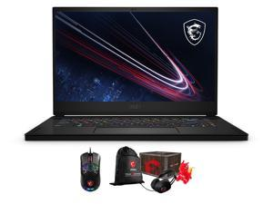 """MSI GS66 Stealth 11UH Gaming & Entertainment Laptop (Intel i7-11800H 8-Core, 16GB RAM, 1TB SSD, 15.6"""" 2K Quad HD (2560x1440), NVIDIA RTX 3080, Wifi, Win 10 Pro) with Gaming Accessory , Loot Box"""