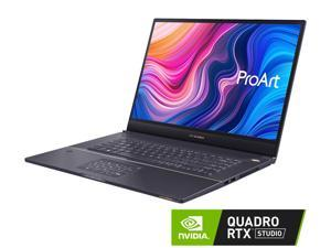 "ASUS ProArt StudioBook Pro W700G3T-XS77 Workstation Laptop (Intel i7-9750H 6-Core, 64GB RAM, 4TB PCIe SSD, 17.0"" 1920x1200, NVIDIA Quadro RTX 3000 Max-Q, Active Pen, Fingerprint, Wifi, Win 10 Pro)"