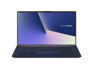 "ASUS ZenBook 14 UX433FA-DH74 Ultra-Slim Home and Business Laptop (Intel 8th Gen i7-8565U Quad Core, 16GB RAM, 512GB PCIe SSD, 14"" FHD 1920x1080 NanoEdge Bezel, Backlit, Win 10 Home) Royal Blue"