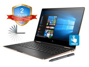 "HP Spectre x360 13t Convertible 2-in-1 Laptop in Dark Ash Silver (Intel 8th Gen i7-8550U, 16GB RAM, 2TB PCIe SSD, 13.3"" FHD 1920x1080 Touch, Win 10 Home) Two Year Warranty and Accidential Damage"