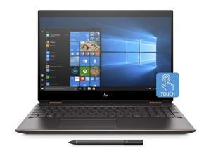 "HP Spectre x360 Home and Entertainment Laptop (Intel i7-9750H 6-Core, 16GB RAM, 256GB SSD, 15.6"" Touch  4K UHD (3840x2160), NVIDIA GTX 1650 [Max-Q], Active Pen, Fingerprint, Wifi, Win 10 Pro)"