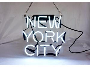 Fashion Handcraft New New York NY City Real Glass Tubes Neon Light Sign 10x10!!!Best Offer!