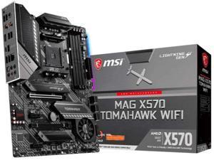 MSI MAG X570 TOMAHAWK WIFI AM4 AMD X570 WiFi6 ATX Motherboard