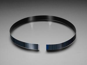 """Adafruit Flex Cable for Raspberry Pi Camera - 24"""" / 610mm"""