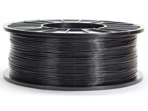 3DMakerWorld Plastic Filament - ABS (PA-747) 1.75mm Black 1Kg Spool, Made in the USA