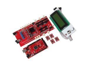 3D Printer KIT Ultimaker 1.57 Main Controller + 2004 LCD Display + A4988 Motor Drive + Mega 2560 R3 Arduino Compatible + USB Cable