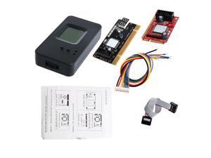 Laptop Mini PCI-E PCI diagnostic test debug post card with case for laptop & PC