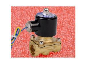"""3/4"""" Electric Solenoid Valve Normally Closed 12V DC 12 VOLT Viton Seal Water Air"""