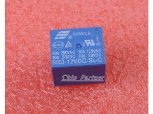 SRD-12VDC-SL-C RELAY T73-12V SONGLE 12V Power Relay Good 100%