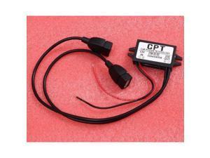DC-DC 12V to 5V Step Down Power Module Converter Regulator Dual-USB Output