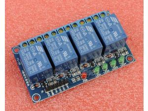 12V 4-Channel Relay Module High Level Triger Relay shield for Arduino