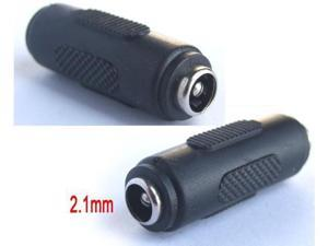 1pcs DC 5.5*2.1mm Female to 5.5*2.1mm Female Power Charger Connector Coupler Adapter