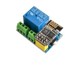 ESP8266 ESP-01S WiFi Module with 5V Relay Module Remote Control Switch for Smart Home NodeMCU