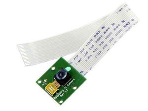 5MP Camera Module with Ribbon Cable 15cm 1080p Video Supported CSI for Raspberry Pi 2 3 4 Model B B+