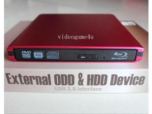 USB 3.0 External Panasonic UJ-240 6X Blu-Ray Burner Writer BD-RE DVD RW Drive