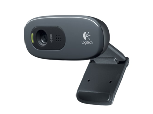 Logitech HD Webcam C270, 720p Widescreen Video Calling and Recording