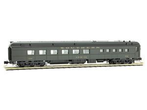 Micro-Trains MTL N-Scale 3-Bay Covered Hopper Solvay Minerals//SMNX Graffiti #955