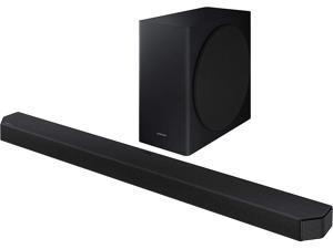 Samsung HW-Q900T 406 Watt 7.1.2 CH Atmos Sound Bar, 16 Speakers, Dolby Digital Plus, DTS-X, Bluetooth