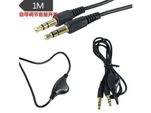 3.5mm Stereo  Headphone Audio Extension Cable Cord Male to Male 1M