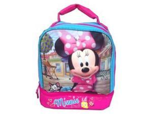 Lunch Box - Minnie Mouse - Blue Pink