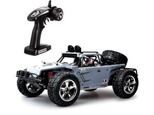 TOZO C5031 RC CAR Desert Buggy Warhammer High Speed 30MPH+ 4x4 Fast Race Cars 1:12 SCALE RTR Racing 4WD ELECTRIC POWER 2.4GHz Radio Remote control Off Road Truck Powersport Gray