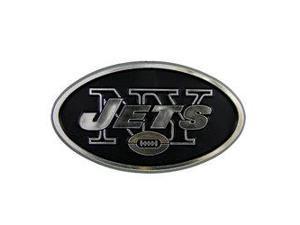New York Jets Silver Auto Emblem
