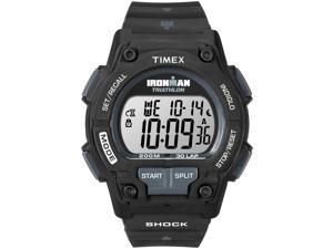 Timex Men's Ironman Endure 30-Lap Full Size | Black Case & Strap Watch