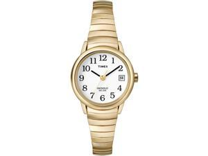 Timex Women's Easy Reader Gold-Tone Expansion Band Watch - T2H351
