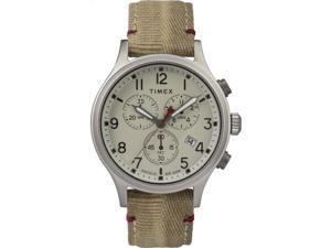 Men's Timex Military Allied Classic Tan Canvas Strap Watch TW2R60500