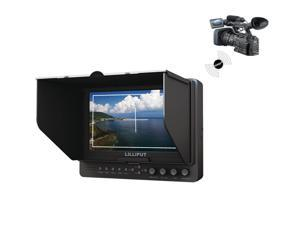 """LILLIPUT 665/O/P/WH 7"""" Wireless HDMI Cameras Secondary Monitor with WHDI, HDMI Input & Output, YPbPr, component video, peaking functions, focus assistance ,Optimised for for DSLR & Full HD Camcorder"""